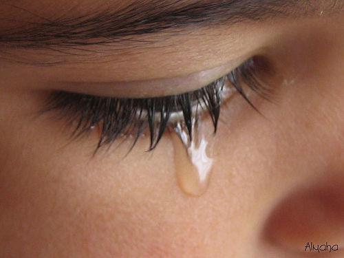 cry tear
